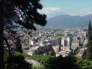 Vista della città di Brescia
