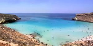 vacanze nel gargano. Il mare con la spiaggia bianca splendida!