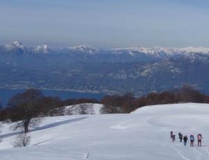trekking e sci sul monte bianco