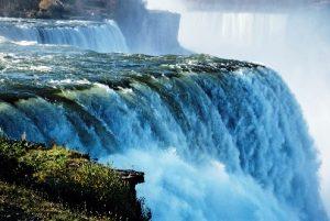 le romantiche cascate del niagara