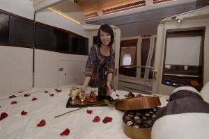 Suite di lusso sui voli singapore airlines