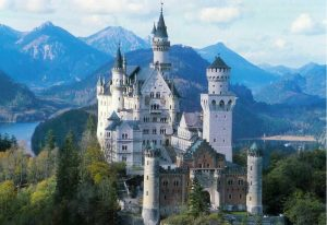Il favoloso castello di Neuschwanstein