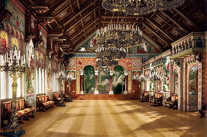 sala castello disney