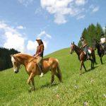 val gardena a cavallo