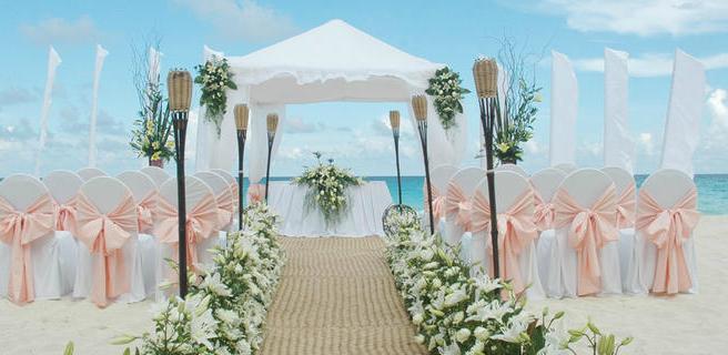 Gazebo Matrimonio Spiaggia : Sposarsi ai caraibi