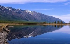 lago Bajkal, in Russia