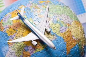 Giro del mondo su un jet privato