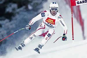 sciare e slalom in val gardena