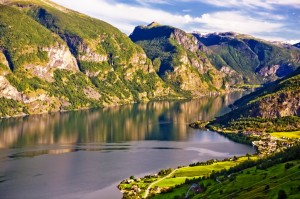 ferrovia Flamsbana  norvegia