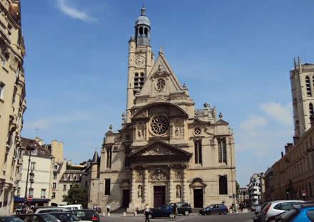 La Chiesa di Saint-Etienne-du-Mont