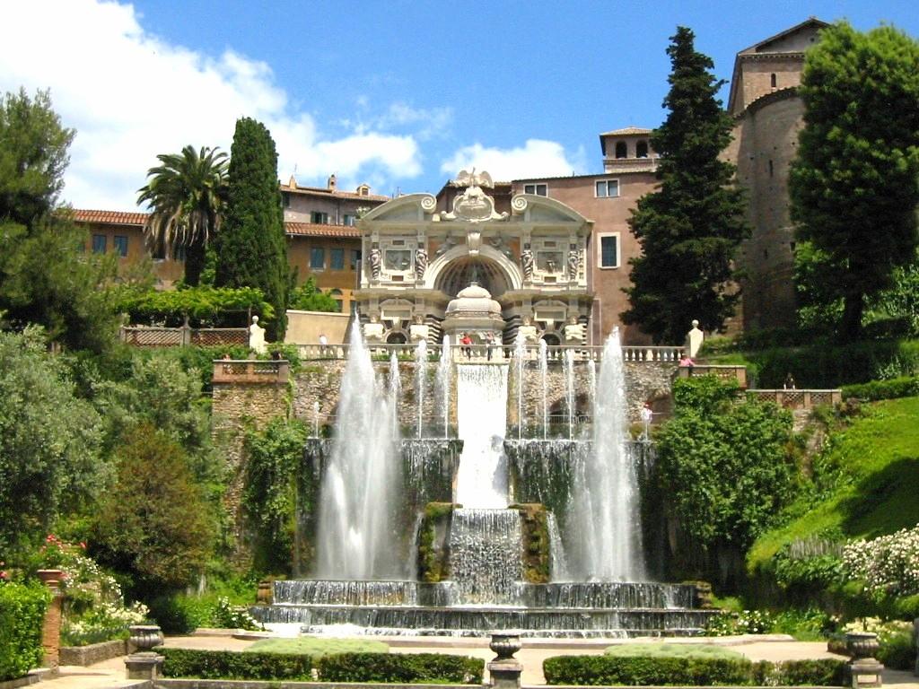 Templi romani e ville a tivoli - Parco tivoli piscina ...