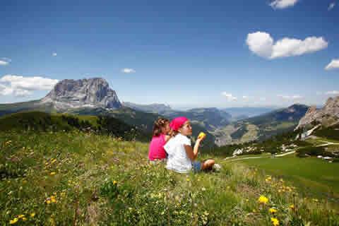 passeggiate con famiglia in Val Gardena