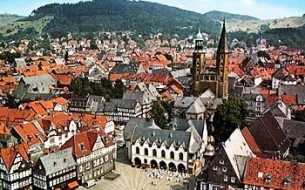 Goslar città imperiale della Germania