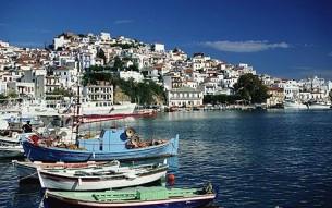 Skiathos e Skopelos vacanze da film