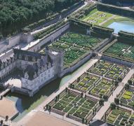 Il castello di Villandry e i suoi giardini