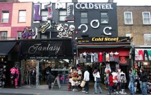 Il quartiere Camden a Londra