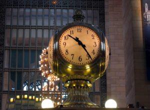 l'orologio al Grand Central