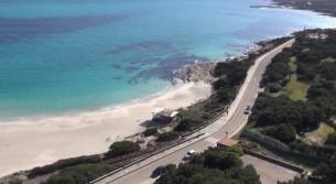 Video spiaggia La Pelosa Stintino Sardegna