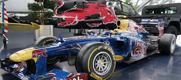 La mitica F1 del museo Redbull in Austria