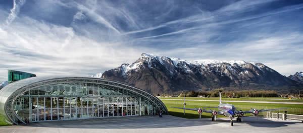 la sede del museo Redbull in Austria
