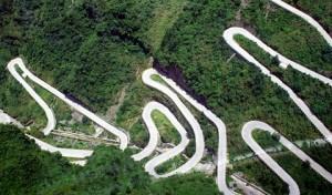 una strada più pericolosa al mondo