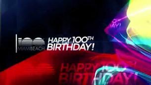 Celebrazione dei 100 anni di Miami Beach