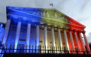 La presa della Bastiglia. Festa nazionale in Francia