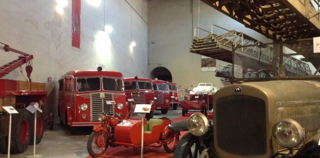 La Galleria storica dei vigili del fuoco di Mantova