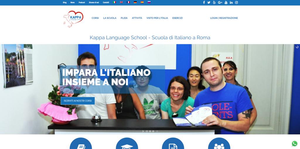 kappa language corso italiano per stranieri