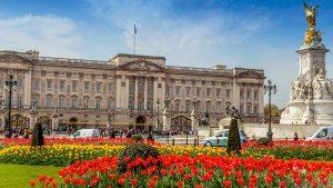 Buckingham Palace visto da fuori, a Londra