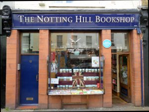 Esterno del Notthing Hill Bookshop a Londra